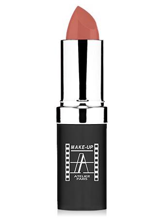 "Make-Up Atelier Paris Cristal Lipstick B012 Pinky beige Помада ""Кристалл"" розово-бежевый"