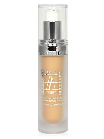 Make-Up Atelier Paris Fluid Foundation FL1B Тон-флюид 1B увлажняющий бледно-бежевый