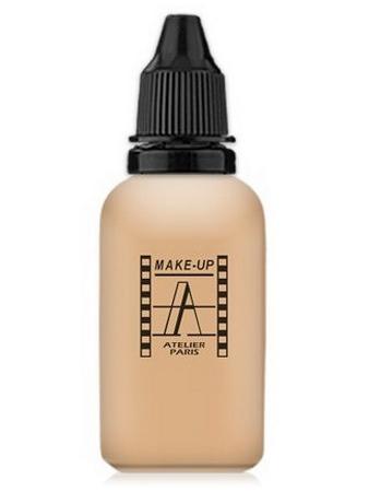 Make-Up Atelier Paris HD Fluid Foundation Gilded AIR2Y Yellow clear Тон-флюид водостойкий для аэрографа 2Y светло-золотистый