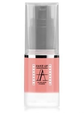 Make-Up Atelier Paris HD Fluid Blush AIRBR1 Beige rose Румяна-флюид HD Бежево-розовые