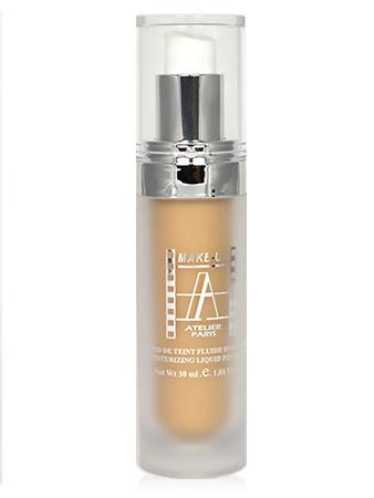 Make-Up Atelier Paris Fluid Foundation FL3B Тон-флюид увлажняющий 3B бежевый натуральный