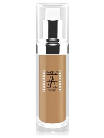 Make-Up Atelier Paris Fluid Foundation Gilded FLW4Y Yellow honey Тон-флюид водостойкий 4Y золотистый