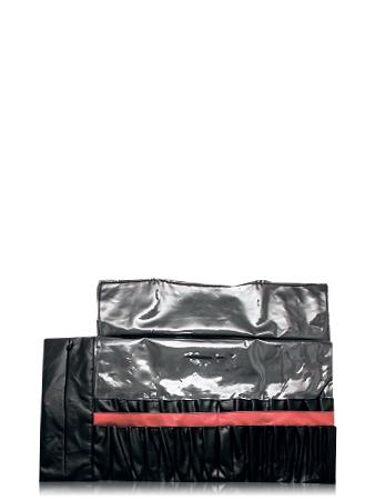 Make-Up Atelier Paris Чехол для кистей №3 черный классический двухрядный