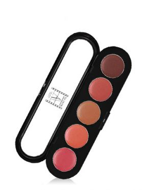 Make-Up Atelier Paris Lipsticks Palette 05  Палитра помад из 5 цветов №05 восточный беж