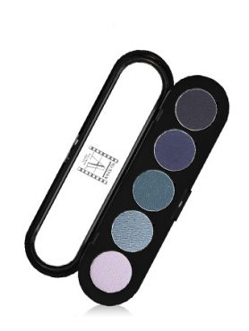 Make-Up Atelier Paris Palette Eyeshadows T27 Blue jeans Палитра теней для век №27 голубой бриллиант