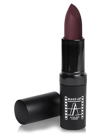 """Make-Up Atelier Paris Velvet Lipstick B104V Dark red Помада """"Велюр"""" темно-красная"""