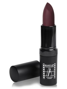 "Make-Up Atelier Paris Velvet Lipstick B104V Dark red Помада ""Велюр"" темно-красная"