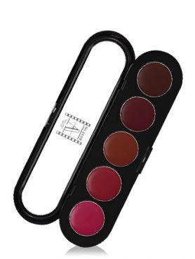 Make-Up Atelier Paris Lipsticks Palette 23 Vintage Палитра помад из 5 цветов №23 винтажная